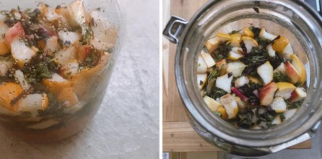 自然栽培・無農薬野菜・有機栽培・オーガニック等の野菜やハーブ・果物の酵素シロップ
